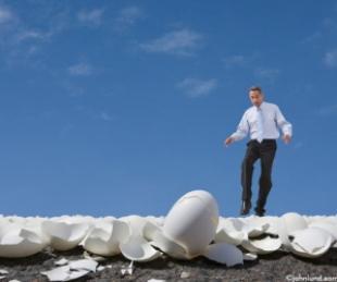 Image result for walking on eggshells